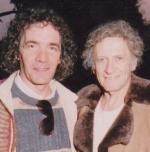Patrick Loriot avec Marcel Marceau